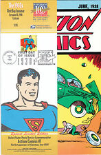 Action Comics #1 1998 USPS Stamp Reprint 1st Appearance of Superman SEALED MINT!