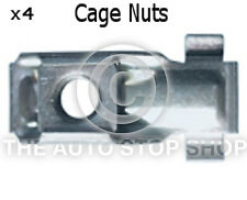 Metal Cage Nuts Peugeot Range: 4008/407/5008/807/Bipper etc Part 1399pe 4 Pack