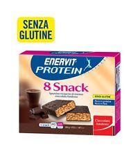 Enervit Protein Snack 8 astucci 8 barrette soya/cioccol ideali per la Zona-91661
