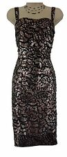 14 LARGE XL SEXY Womens METALLIC/TIERED COCKTAIL DRESS Evening Special Occasion