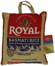 Royal Premium Basmati White Rice 20 Pounds GMO FREE Aged FREE PRIORITY SHIPPING