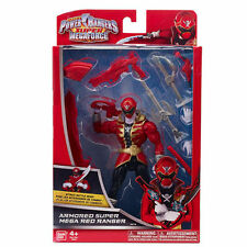 "Power Rangers Super Megaforce Armoured Super Mega Red 7"" Ranger Figure"