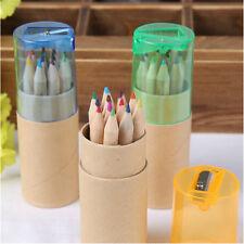 12 COLORI MATITA COLORATA gruppo di disegni per bambini amatoriale con matita AFFILATORE GG