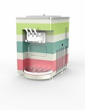 Arctic Rainbow Ice Cream Machine NEW Vat included