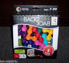 NEW SMART GAMES BACK 2 BACK PUZZLE PLAYER - 2-SIDED MULTI-LEVEL IQ LOGIC GAME