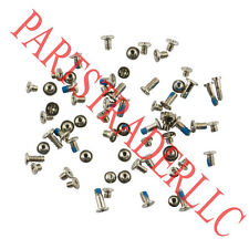 "iPhone 6 4.7"" Screw Kit Full Complete Set + Bottom SILVER USA"