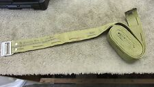 US WW2 BROWNING 50 CAL CLOTH AMMO BELT STRAP 1943 DATED RUSSELL MFG M2HB