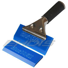 """5"""" Pro Squeegee Deluxe Handle Squeegee & One Extra Blue Max Rubber Blade Cleaner"""