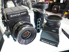 MAMIYA RB67 PRO S with SEKOR C 90mm F/3.8 and 250mm f4.5 2 finders