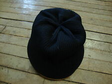 ORIGINAL WWII U.S. NAVY WATCH CAP HAND KNIT RED CROSS ISSUE ! MILITARY