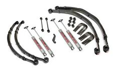 "4"" Suspension Kit w/N2.0 Shocks, 1976-1986 Jeep CJ5, CJ7, CJ8 Scrambler"