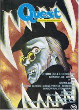 QUEST LE MAGAZINE DES JEUX DE SIMULATION N°4  mars/avr  1991