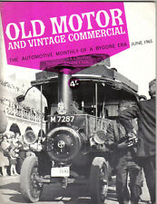 Old Motor + Vintage Commercial Jun 65 Vol 3 No 12 HRG Brooke Lifu Thornycroft +