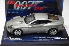 MINICHAMPS ASTON MARTIN V12 VANQUISH 007 JAMES BOND DIE ANOTHER DAY 1:43