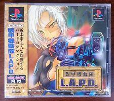 SOUKOU KIDOUYAI LAPD (FUTURE COP) NEW SEALED - Japanese Sony Playstation 1 (PS1)