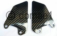 carbon fiber heel plates guard rider front Ducati 750 800 900 1000 SS Supersport