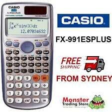 AUSSIE SELLER CASIO SCIENTIFIC CALCULATOR FX-991 FX991 FX-991ESPLUS WARRANTY