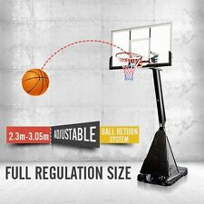 Portable Adjustable Basketball Ring System Slam Dunk Stand Ring Net (2.3m-3.05m)