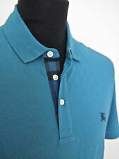 Hommes bnwt £ 125 polo top par burberry brit-taille l -- burberry check détaillant