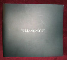 2009 MANSORY Rolls Royce Brochure    Ferrari Mercedes Bentley