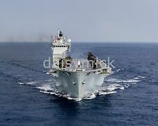 Royal Navy HMS Ocean Landing Platform Helicopter Photo 10x8 Inch Reprint