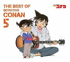 USED THE BEST OF DETECTIVE CONAN 5(regular) CD