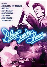 BLUE SUEDE SHOES (Bill Haley Crazy Cavan Gene Vincent...)DVD in Inglese NEW .cp