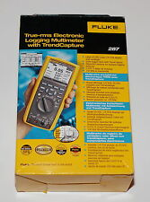FLUKE 287 TRUE RMS LOGGING DIGITAL MULTIMETER DMM W TRENDCAPTURE BRAND NEW