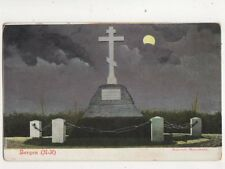 Bergen Russisch Monument Norway Vintage Postcard 403b