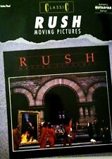 RUSH TABLATURE RUSH GUITAR MOVING PICTURES GUITAR TABLATURE RUSH TAB SONGBOOK