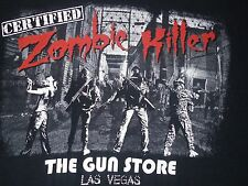 The Gun Store Las Vegas Certified Zombie Killer T-Shirt Adult Medium