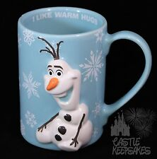 Disney Parks Frozen Olaf 3d Coffee Mug Do You Want To Build A Snowman Warm Hugs