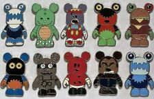 Disney Vinylmation Mystery Collection Urban Series #3 10 Pin Complete Set RARE