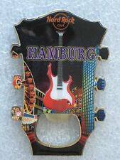 HAMBURG,Hard Rock Cafe,MAGNET,GUITAR HEAD BOTTLE OPENER,V8
