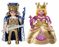 Playmobil Mystery Figure Series 7 BOTH King AND Queen 5537 5538 Gold NEW!