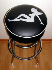 Nude Mud Flap Girl Sexy Lady Bar Stool Stools
