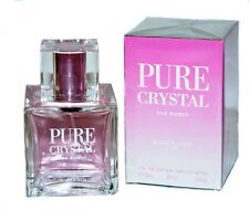 PURE CRYSTAL BY KAREN LOW PERFUME FOR WOMEN 3.4 OZ EDP SPRAY *NEW IN SEALED BOX*