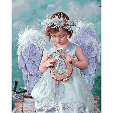Neu 5D DIY Diamant Malerei Stickerei Angel girl Schönheit Painting Cross Stitch
