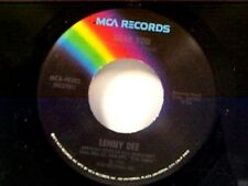 """LENNY DEE """"NEAR YOU / ONLY YOU (AND YOU ALONE)"""" 45 MINT"""