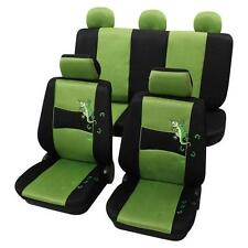 Stylish Green & Black Design Seat Covers - Mitsubishi Lancer Saloon 2003 Onwards