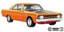 New! Collectable Chrysler Valiant VG Pacer Hemi 2Door - Orange