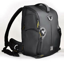 "New Waterproof DSLR Camera Backpack Professional Padded Travel 15"" Laptop Bag"