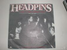 SINGLE HEADPINS - JUST ONE MORE TIME - POLYDOR SPAIN 1984 VG+