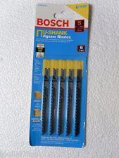 Bosch U101D 3 5/8'' 6TPI (5 Pk) Clean for Wood U-Shank Jigsaw Blades New