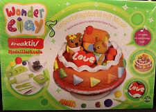 Wonder Clay/ kreativ Modellierknete/Geburtstagstorte mit Musik/ OVP