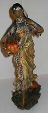 "NATIVE AMERICAN-LIKE FIGURE ""HARVEST WOMAN DECORATIVE FIGURE"" DETAILED & NEW!"
