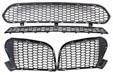 BMW X5 E70 X6 E71 M STYLE 2010-2012 NEW GENUINE FRONT BUMPER GRILL SET 4 PCS