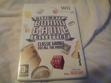 WII GAME  ULTIMATE BOARD GAME COLLECTION.