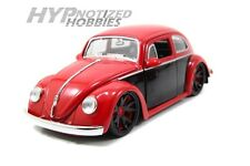 JADA 1:24 1959 VOLKSWAGEN BEETLE RED/BLACK 91697