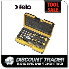 "Felo R-GO XL Box 19 Piece Socket Set 1/4"" Drive Ergonomic 19 05781906"